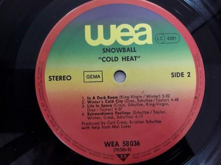 Snowball – албум Cold Heat