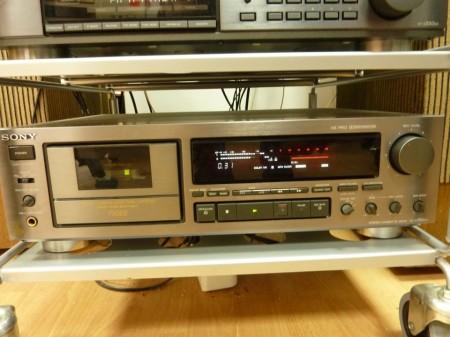 Sony ES set усилвател, тунер, дек, CD