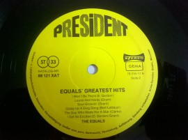 The Equals – албум Equals' Greatest Hits