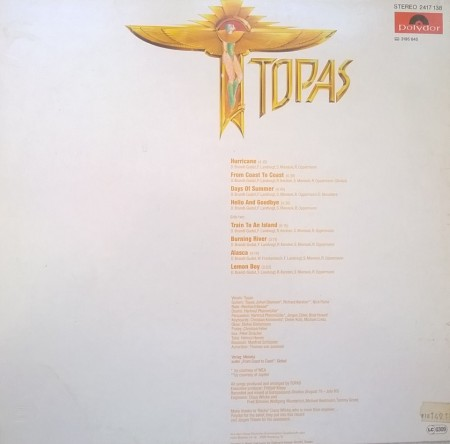 Topas – албум Topas
