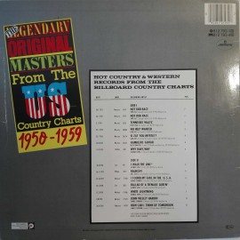 Various ‎– The Original Tapes - албум The Legendary Original Masters From The US Country Charts 1950 - 1959 изображения