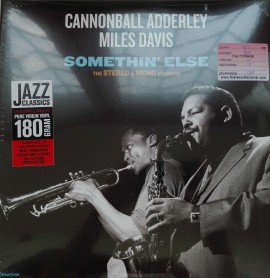 Cannonball Adderley, Miles Davis ‎– албум Somethin' Else the stereo and mono verions изображения