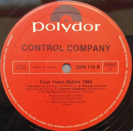 Control Company – албум Four Years Before 1984