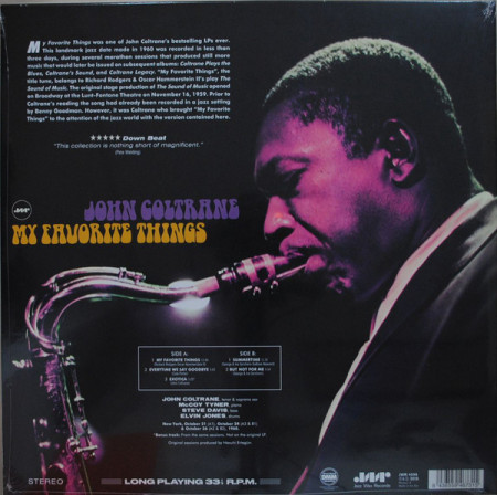 John Coltrane - албум My Favorite Things