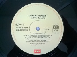 Shakin' Stevens And The Sunsets ‎– албум Collection