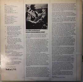 Lee Allen & His Band – албум Down On Bourbon Street