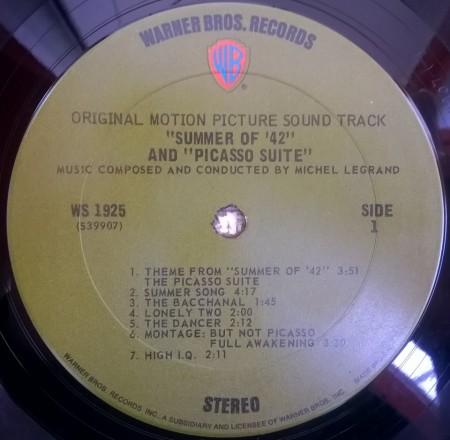 Michel Legrand – албум Summer Of '42