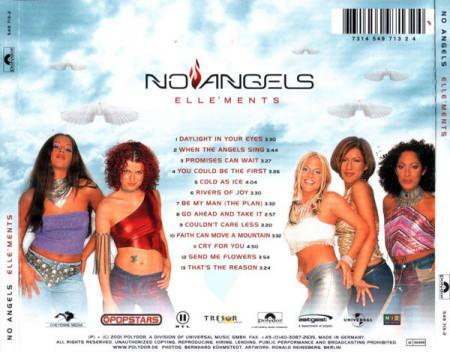 No Angels – албум Elle'Ments (CD)