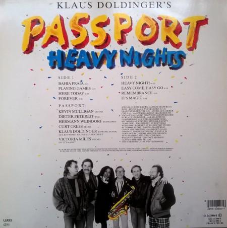 Passport – албум Heavy Nights