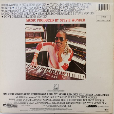 Stevie Wonder ‎– албум The Woman In Red (Selections From The Original Motion Picture Soundtrack)
