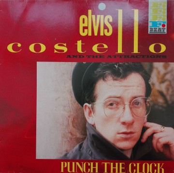 Elvis Costello And The Attractions ‎– албум Punch The Clock