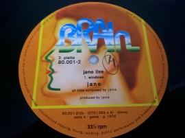 Jane – албум Jane Live