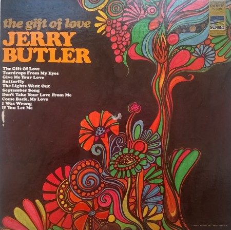 Jerry Butler – албум The Gift Of Love