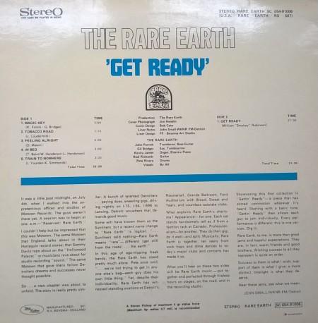 Rare Earth – албум Get Ready