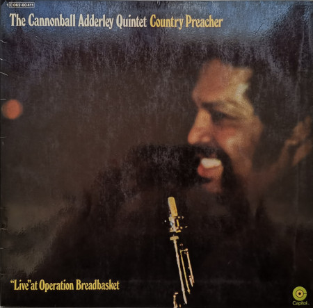 The Cannonball Adderley Quintet ‎– албум Country Preacher