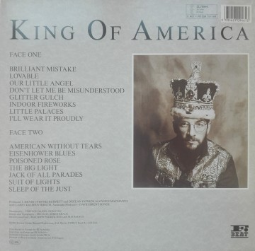 The Costello Show Featuring The Attractions And Confederates – албум King Of America