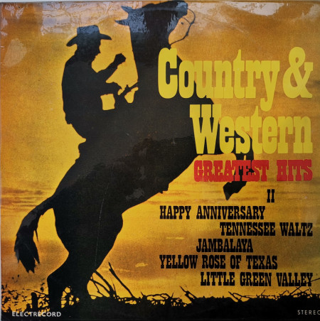 Unknown Artist – албум Country & Western Greatest Hits II