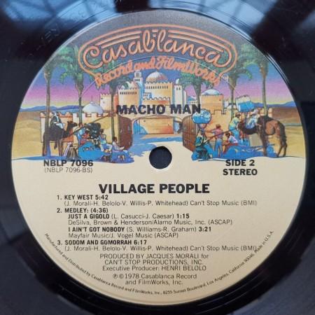 Village People – албум Macho Man