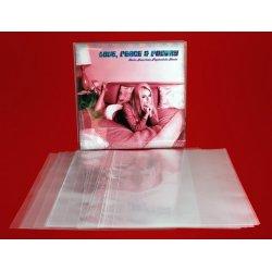 Външен целофанов плик за съхранение на 12' грамофонна плоча