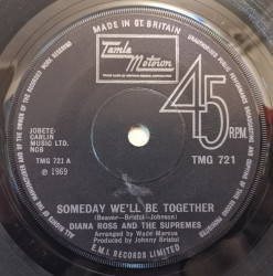 Diana Ross And The Supremes – сингъл Someday We'll Be Together