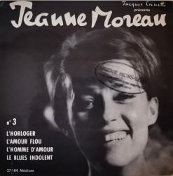Jeanne Moreau – сингъл L'Horloger