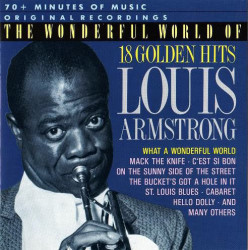 Louis Armstrong – албум The Wonderful World Of Louis Armstrong (18 Golden Hits) (CD)