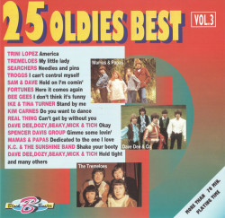 Various ‎– албум 25 Oldies Best Vol. 3 (CD)