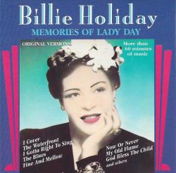 Billie Holiday – албум Memories Of Lady Day (CD)