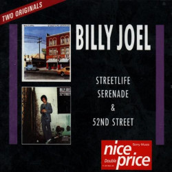 Billy Joel ‎– албум Streetlife & 52nd Street (CD)