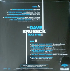 Dave Brubeck – албум Take five