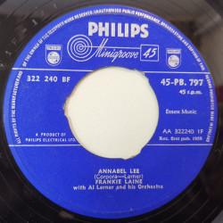 Frankie Laine – сингъл Annabel Lee
