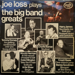 Joe Loss ‎– албум Joe Loss Plays The Big Band Greats