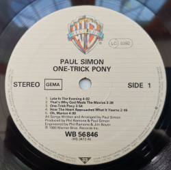 Paul Simon ‎– албум One-Trick Pony