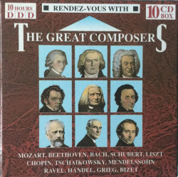 Various – албум Rendez-Vous With The Great Composers (CD)