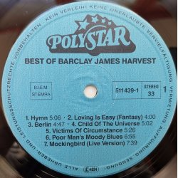 Barclay James Harvest ‎– албум Best Of Barclay James Harvest