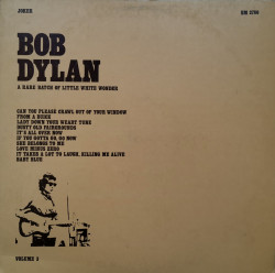 Bob Dylan – албум A Rare Batch Of Little White Wonder - Volume 3