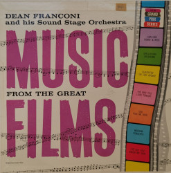 Dean Franconi And His Sound Stage Orchestra ‎– албум Music From Award Winning Films