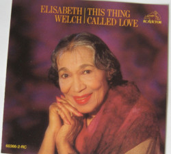 Elisabeth Welch ‎– албум This Thing Called Love (CD)