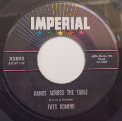 Fats Domino – сингъл Won't You Come On Back / Hands Across The Table