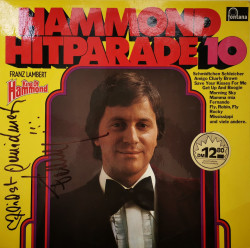 Franz Lambert ‎– албум Hammond Hitparade 10