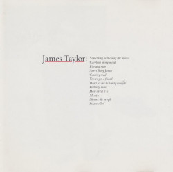 James Taylor – албум Greatest Hits (CD)