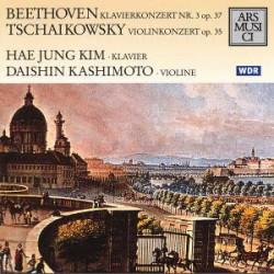 Ludwig van Beethoven + Pjotr Iljitsch Tschaikowski Klavierkonzert Nr. 3 Op. 37 / Violinkonzert Op. 35 (CD)
