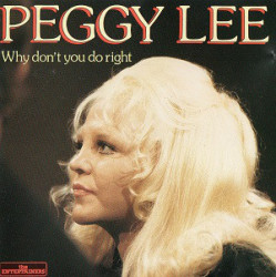 Peggy Lee ‎– албум Why Don't You Do Right (CD)