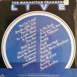 The Manhattan Transfer – албум Live