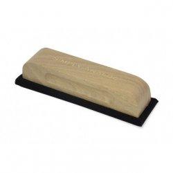 Четка за почистване на грамофонни плочи от дъбово дърво и кадифе