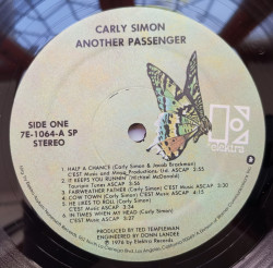 Carly Simon ‎– албум Another Passenger