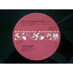 Chaz Jankel/The Raes ‎– сингъл Glad To Know You / Don't Turn Around