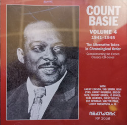 Count Basie – албум Volume 4 (1941-1945) The Alternate Takes In Chronological Order (CD)