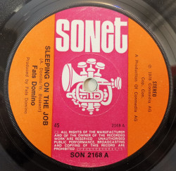 Fats Domino – сингъл Sleeping On The Job