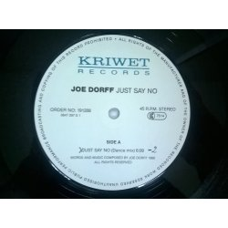 Joe Dorff ‎– сингъл Just Say No